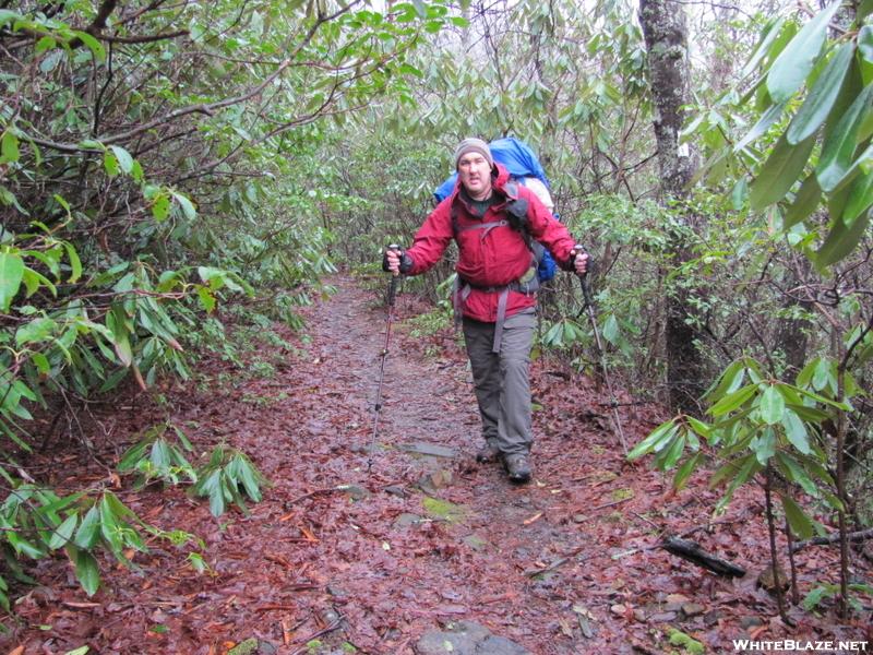 0083 2010.03.13 Matt On Cold Spring Gap Trail