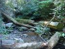 0155 2010.09.04 Creek Crossing North Of Beech Gap by Attila in Trail & Blazes in North Carolina & Tennessee