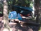 0157 2010.09.04 Hammock At Carter Gap Shelter