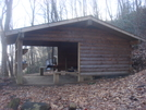0188 2010.11.20 Wayah Shelter by Attila in North Carolina & Tennessee Shelters