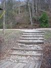 0206 2011.04.02 Nobo Trail Crossing Rail Road Tracks At Noc by Attila in Trail & Blazes in North Carolina & Tennessee
