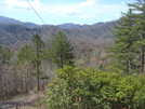 0209 2011.04.02 Power Line Below Flint Ridge by Attila in Views in North Carolina & Tennessee