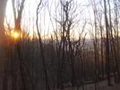 0225 2011.04.03 View Of Sunrise From Sassafras Gap Shelter