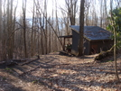 0226 2011.04.03 Sassafras Gap Shelter In The Morning Sun by Attila in North Carolina & Tennessee Shelters