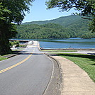 0283 2011.06.25 View Of Fontana Dam And Fontana Lake by Attila in Trail & Blazes in North Carolina & Tennessee