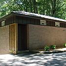 0273 Fontana Hilton - Fontana Dam Shelter Showers by Attila in North Carolina & Tennessee Shelters