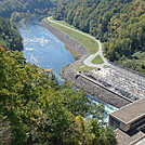 0286 2011.10.08 View From Fontana Dam by Attila in Views in North Carolina & Tennessee