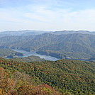 0291 2011.10.08 View of Fontana Lake From Shuckstack Fire Tower