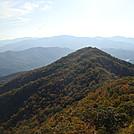 0293 2011.10.08 View Of Little Shuckstack Mountain From  Shuckstack Fire Tower