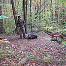 0298 2011.10.09 Matt Packing Up At Birch Spring Campsite #7 by Attila in Section Hikers