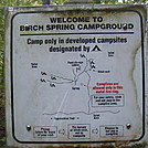 0300 2011.10.09 Birch Spring Campground Map by Attila in Tent camping
