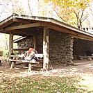 0308  2011.10.09 Mollies Ridge Shelter