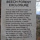 0379 2011.11.26 Beech Forest Exclosure Sign