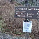 0381 2011.11.26 SOBO Trail From Newfound Gap by Attila in Trail & Blazes in North Carolina & Tennessee