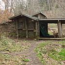 0405 Pecks Corner Shelter by Attila in North Carolina & Tennessee Shelters