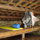 0406 2012.04.02 Pecks Corner Shelter Sleeping Platform by Attila in North Carolina & Tennessee Shelters