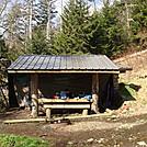 0418 2012.04.03 Tricorner Knob Shelter by Attila in North Carolina & Tennessee Shelters