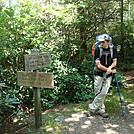 0432 2012.08.25 Gabe At Camel Gap Trail Sign