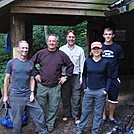 0433 2012.08.25 The Crew At Cosby Knob Shelter