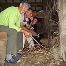 0434 2012.08.25 Cosby Knob Shelter Campfire