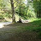 0444 2012.08.26 Kelly Resting At Davenport Gap