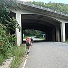 0451 2012.08.26 AT Under I-40 by Attila in Trail & Blazes in North Carolina & Tennessee