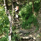 0452 2012.08.26 Green Corner Road Steps by Attila in Trail & Blazes in North Carolina & Tennessee