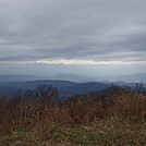 0458 2012.11.23 View Of Smokies From Snowbird Mountain
