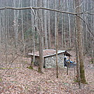 0462 2012.11.24 Groundhog Creek Shelter by Attila in North Carolina & Tennessee Shelters