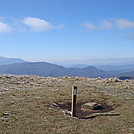 0478 2012.11.24 Frosty Max Patch Summit by Attila in Trail & Blazes in North Carolina & Tennessee