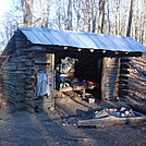 0485 2012.11.24 Walnut Mountain Shelter by Attila in North Carolina & Tennessee Shelters