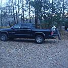 0502 2012.11.25 Matt Resting In USFS Parking Lot In Hot Springs