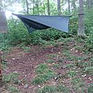 0525 2013.07.13 Hammock Camping At Spring Mountain Shelter