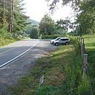 0551 2013.09.02 Devil Fork Gap Parking Lot