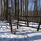 0554 2013.11.29 Crossing Fence South Of Rector Laurel Road by Attila in Trail & Blazes in North Carolina & Tennessee