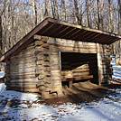 0558 2013.11.29 Hogback Ridge Shelter by Attila in North Carolina & Tennessee Shelters