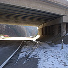 0565 2013.11.30 AT NOBO On Flag Pond Road Under I-26 At Sam's Gap by Attila in Trail & Blazes in North Carolina & Tennessee