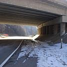 0565 2013.11.30 AT NOBO On Flag Pond Road Under I-26 At Sam's Gap