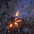 0584 2013.12.28 0584 2013.12.28 Campfire At No Business Knob Shelter by Attila in Views in North Carolina & Tennessee