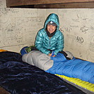 0585 2013.12.28 Annabelle At No Business Knob Shelter by Attila in Section Hikers