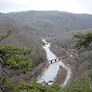 0593 2013.12.29 View Of Nolichucky River From Ridgeline South Of Erwin TN