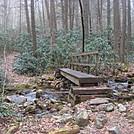 0603 2014.02.08 Bridge Over Jones Branch North Of Erwin TN by Attila in Trail & Blazes in North Carolina & Tennessee