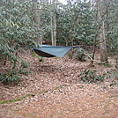 0607 2014.02.08 My Hammock At Curly Maple Gap Shelter
