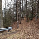 0612 2014.02.09 Indian Grave Gap NOBO by Attila in Trail & Blazes in North Carolina & Tennessee