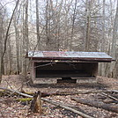 0624 2014.03.09 Cherry Gap Shelter by Attila in North Carolina & Tennessee Shelters