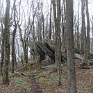 0630 2014.04.25 Rock Formation South Of Clyde Smith Shelter