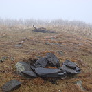 0677 2014.12.30 Hump Mountain Summit by Attila in Trail & Blazes in North Carolina & Tennessee