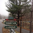 0686 2014.12.30 Mountain Harbour Inn Sign by Attila in Trail & Blazes in North Carolina & Tennessee