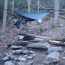 0701 2015.05.02 My Hammock At Mountaineer Falls Shelter by Attila in North Carolina & Tennessee Shelters