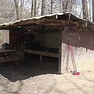 0704 2015.05.03 Moreland Gap Shelter by Attila in North Carolina & Tennessee Shelters